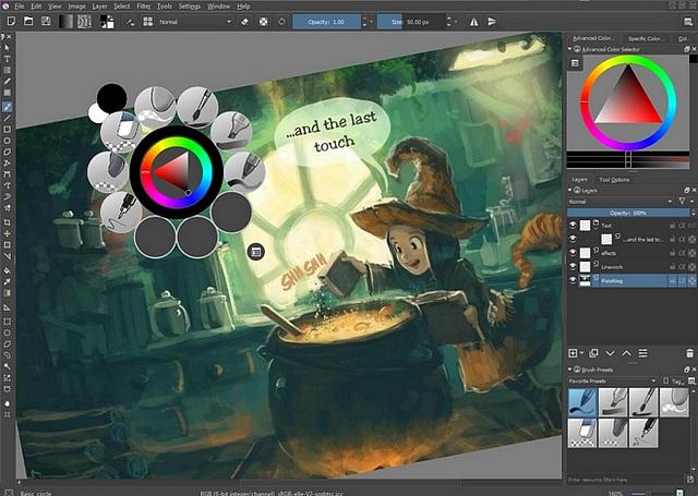 La peinture numérique gratuite avec KRITA