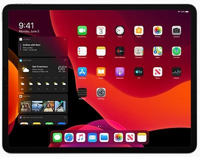 Un nouvel OS pour iPad chez Apple